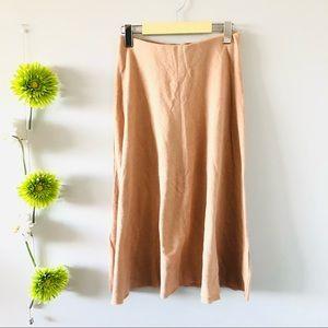 Zara | Soft ribbed midi skirt
